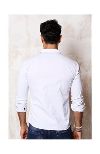 پیراهن اسپرت طرحدار مردانه