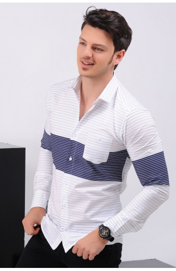 پیراهن مدلدارمردانه