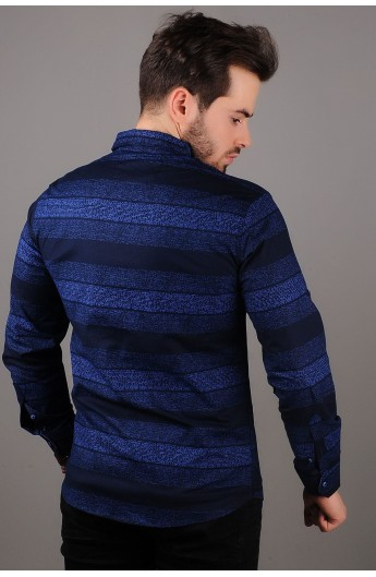 پیراهن طرحدار اسپرت مردانه