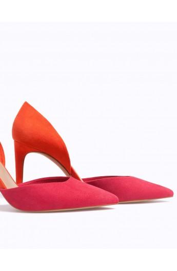 کفش پاشنه بلند مدلدار زنانه