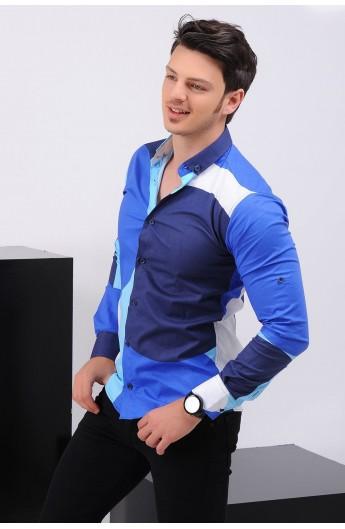 پیراهن مدلدار اسپرت مردانه