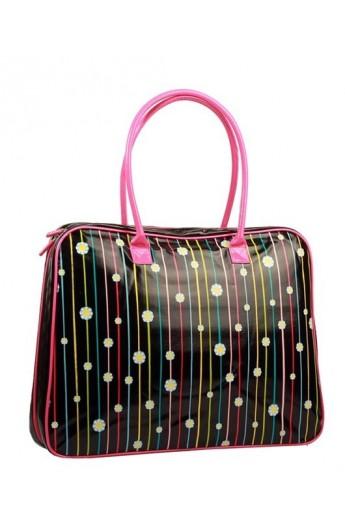 کیف دستی ودوشی مدلدار زنانه