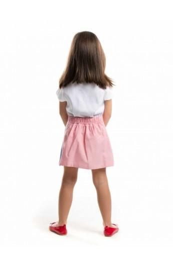 ست تیشرت و دامن دخترانه