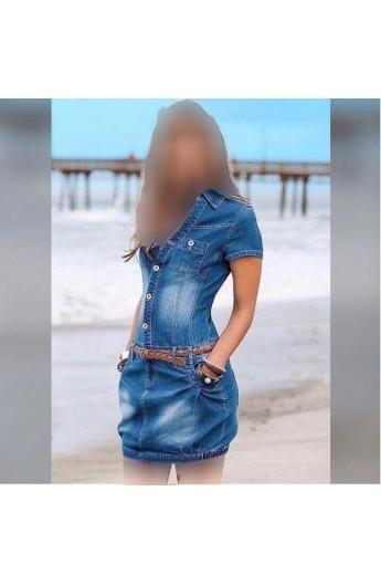 پیراهن جین زنانه
