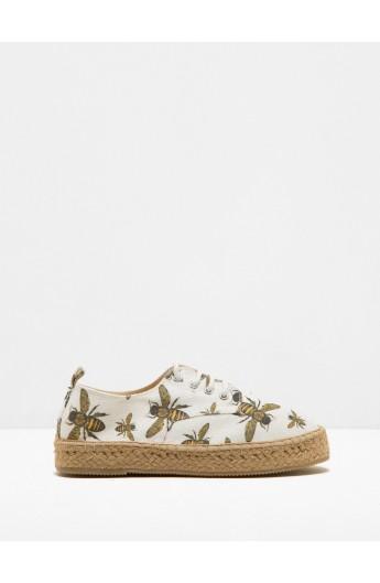 کفش گلدار زنانه