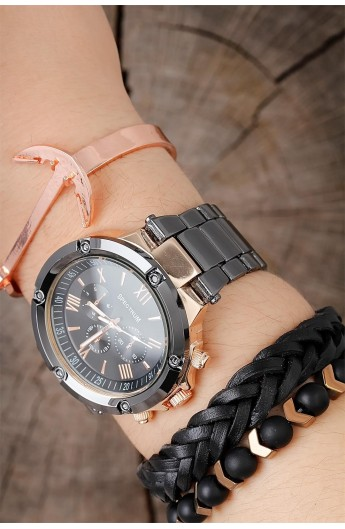 ست ساعت دستبند مردانه