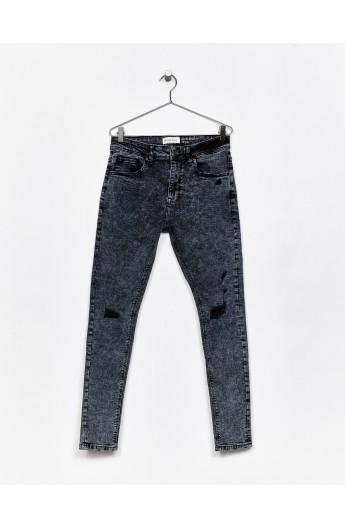 شلوار جین زیپ دار مردانه