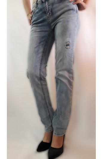 شلوار جین جیب دار زنانه