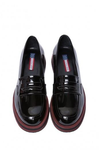 کفش ورنی مردانه