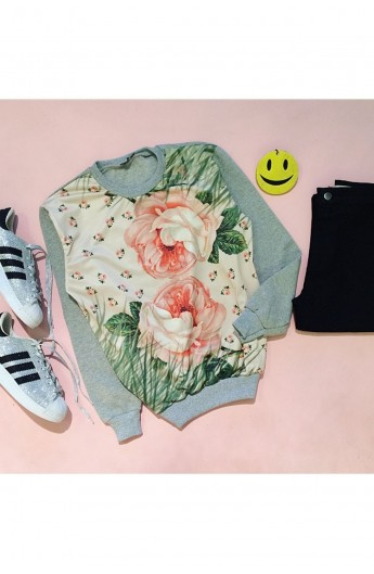 بلوز گلدار زنانه