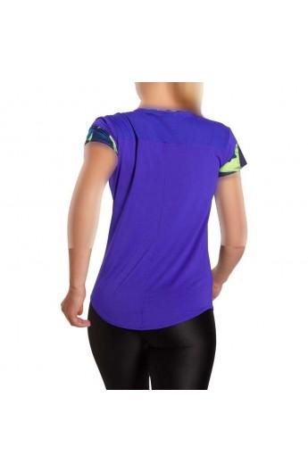 تیشرت یقه گرد ورزشی زنانه