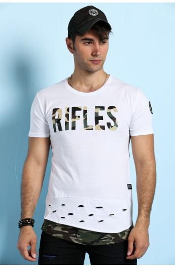 تیشرت مدل دار مردانه