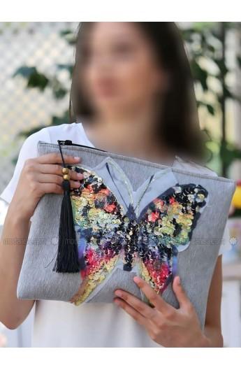 کیف طرح پروانه زنانه
