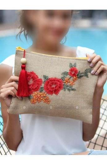 کیف طرح گل زنانه