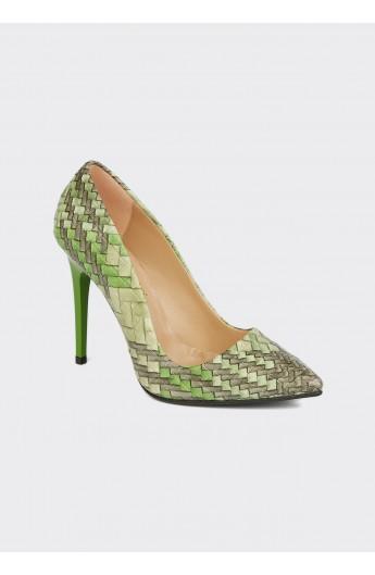 کفش طرح حصیری زنانه