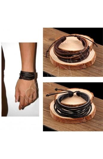 دستبند مدل دار مردانه