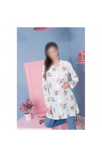 مانتو گلدار بارداری زنانه