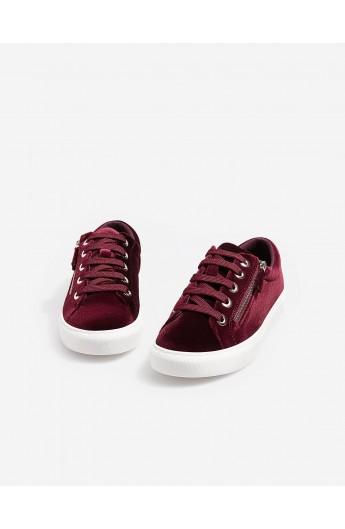 کفش ورزشی مخملی زنانه
