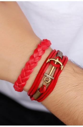 ست دستبند زنجیری مردانه