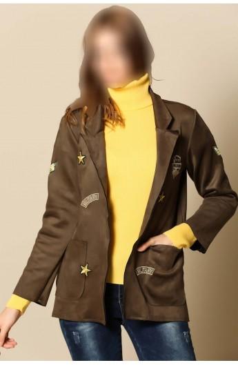 کت ارتشی زنانه