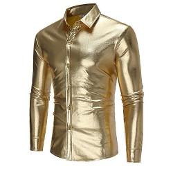 پیراهن طلایی مردانه