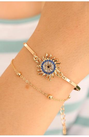 دستبند خورشیدی زنانه