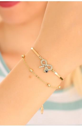 دستبند مدل دار زنانه