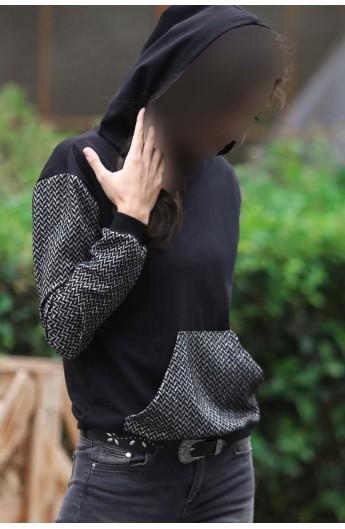 سویشرت جیب دار زنانه