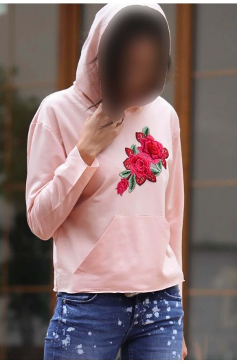 سویشرت گلدار زنانه