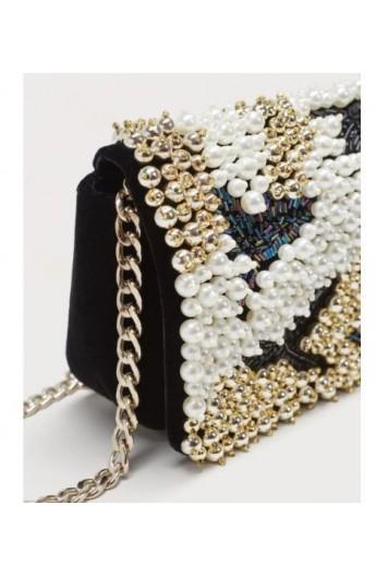 کیف منجق دار زنانه