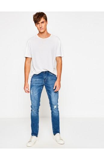 شلوار جین دکمه دار مردانه