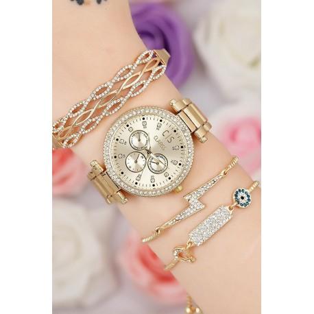 ست ساعت دستبند استبل زنانه