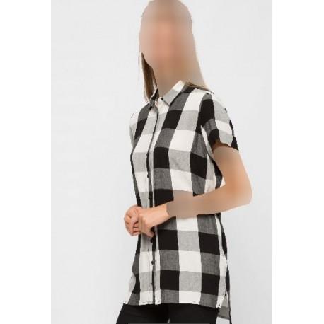 پیراهن چهارخانه زنانه
