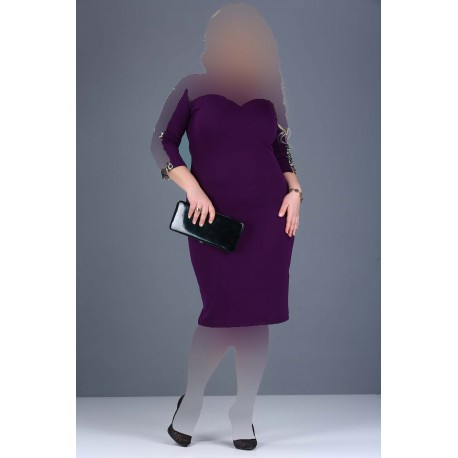 پیراهن مجلسی طرحدار زنانه