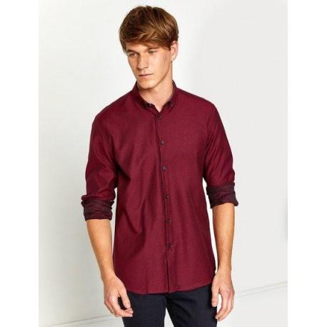 پیراهن یقه دکمه دار مردانه