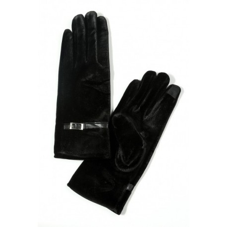 دستکش مخملی زنانه
