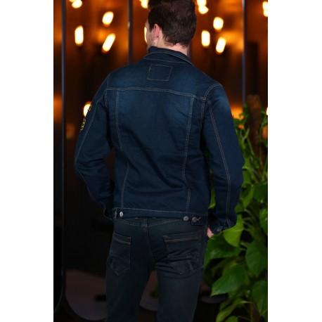 کت جین جیب دار مردانه