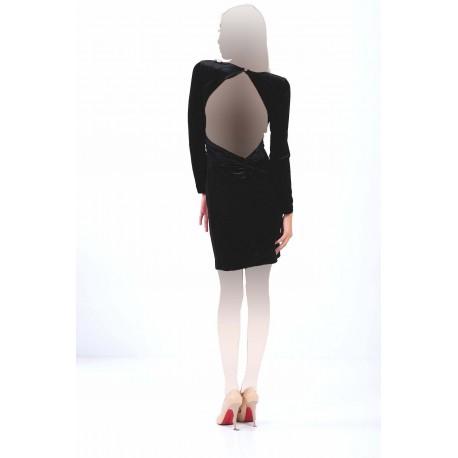 پیراهن یقه کار شده زنانه