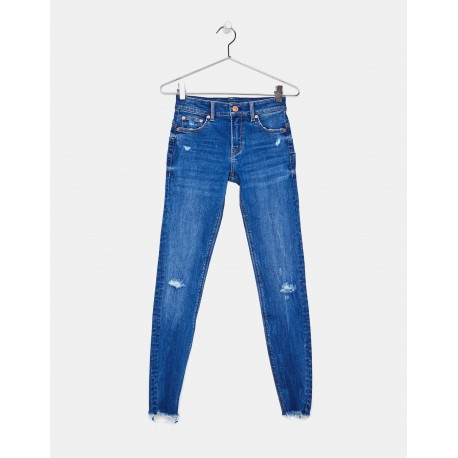 شلوار جین آبی زنانه