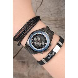 ست ساعت دستبند جدید مردانه