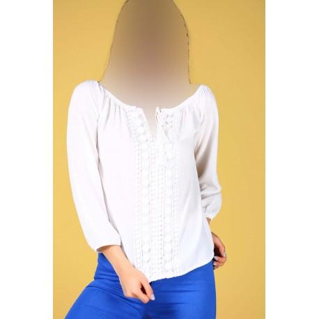 بلوز سفید زنانه