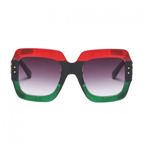 عینک آفتابی قاب مربعی