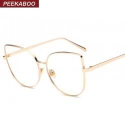 عینک طلایی زنانه
