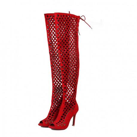 کفش ساقدار پاشنه بلند زنانه