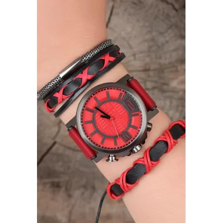 ساعت ست قرمز