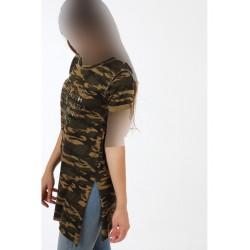 تیشرت ارتشی زنانه