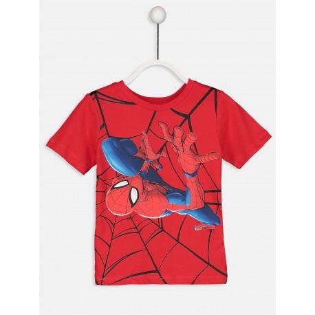 تی شرت استین کوتاه پسرانه مرد عنکبوتی