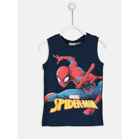 تی شرت استین حلقه ای مرد عنکبوتی