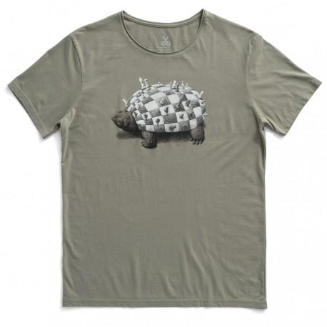 تی شرت مردانه طرح لاکپشت