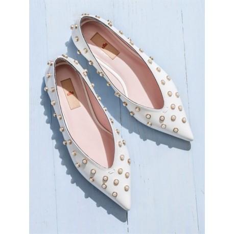 کفش تخت 3color MUELLE